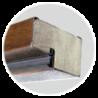Ościeżnica ciepła drewniano-stalowa