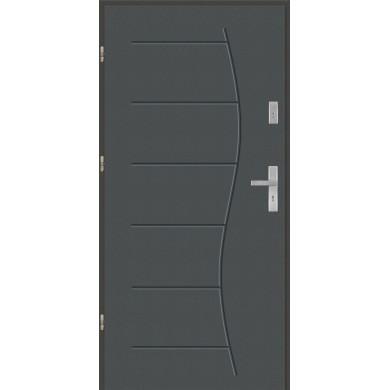 Drzwi wejściowe stalowe model EKO-NORM T43