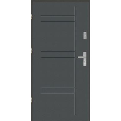 Drzwi wejściowe stalowe model EKO-NORM T46