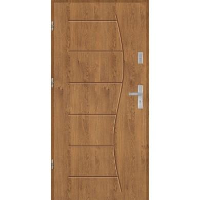 Drzwi wejściowe stalowe model PREMIUM T43