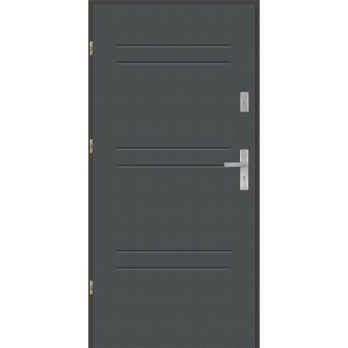 Drzwi wejściowe stalowe model PREMIUM T47