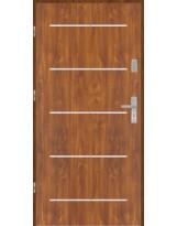 Drzwi wejściowe stalowe model PREMIUM płaskie AP5 inox