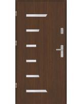 Drzwi wejściowe stalowe model PREMIUM płaskie AP7 Inox