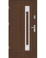 Drzwi wejściowe stalowe model PREMIUM PLUS FINEZJA 23 INOX PEŁNE