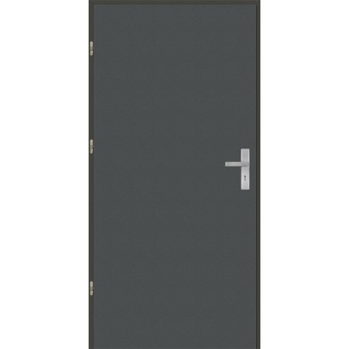 Drzwi wejściowe stalowe model OPTITERM Płaskie