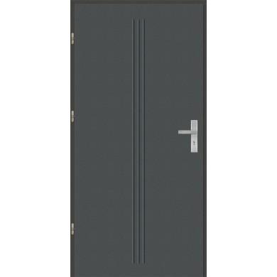 Drzwi wejściowe stalowe model OPTITERM GALA 4
