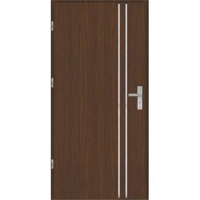 Drzwi wejściowe stalowe model OPTITERM Płaskie AP1