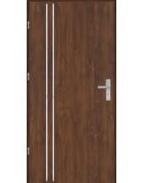 Drzwi wejściowe stalowe model OPTITERM Płaskie AP2