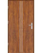 Drzwi wejściowe stalowe model OPTITERM Płaskie AP3