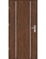 Drzwi wejściowe stalowe model OPTITERM Płaskie AP4