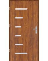 Drzwi wejściowe stalowe model OPTITERM Płaskie AP7
