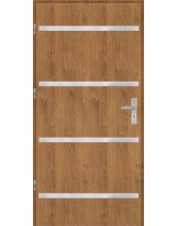Drzwi wejściowe stalowe model OPTITERM Płaskie AP8
