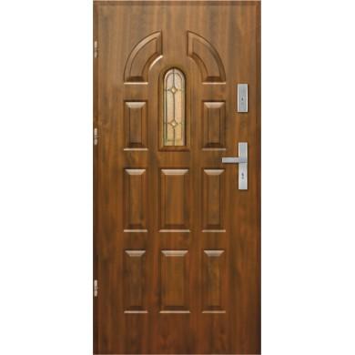 Drzwi wejściowe stalowe model EKO-NORM PIAST 1