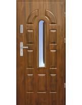 Drzwi wejściowe stalowe model EKO-NORM PIAST 2