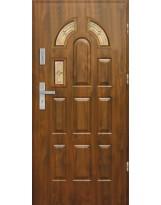 Drzwi wejściowe stalowe model EKO-NORM PIAST 4