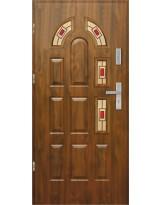 Drzwi wejściowe stalowe model EKO-NORM PIAST 5