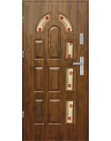 Drzwi wejściowe stalowe model EKO-NORM PIAST 6