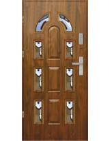 Drzwi wejściowe stalowe model EKO-NORM PIAST 7