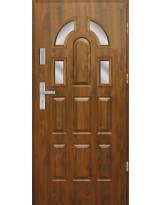 Drzwi wejściowe stalowe model EKO-NORM PIAST 8