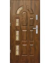 Drzwi wejściowe stalowe model EKO-NORM PIAST 10