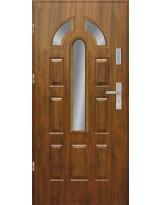 Drzwi wejściowe stalowe model EKO-NORM PIAST 12