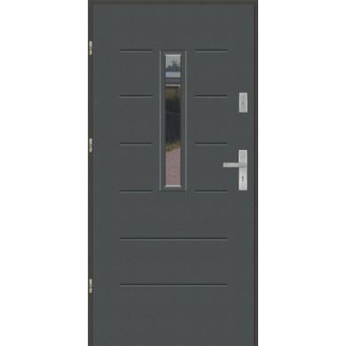 Drzwi wejściowe stalowe model EKO-NORM Wiktoria 1