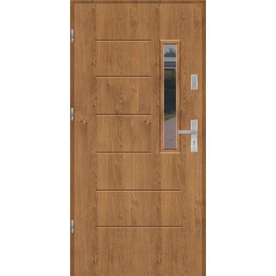 Drzwi wejściowe stalowe model EKO-NORM Wiktoria 3