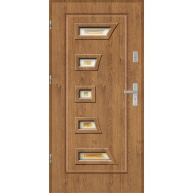Drzwi wejściowe stalowe model EKO-NORM Finezja 1