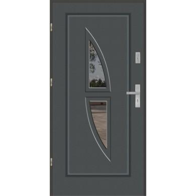 Drzwi wejściowe stalowe model EKO-NORM Finezja 6