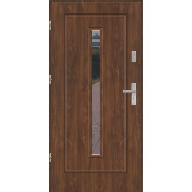 Drzwi wejściowe stalowe model EKO-NORM Finezja 10