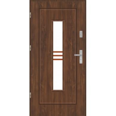 Drzwi wejściowe stalowe model EKO-NORM Finezja 13