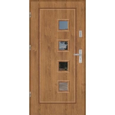 Drzwi wejściowe stalowe model EKO-NORM Finezja 16