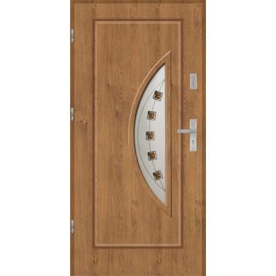 Drzwi wejściowe stalowe model EKO-NORM Finezja 27