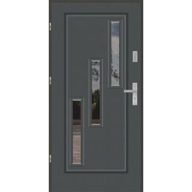 Drzwi wejściowe stalowe model EKO-NORM Finezja 31