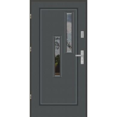 Drzwi wejściowe stalowe model EKO-NORM Finezja 44