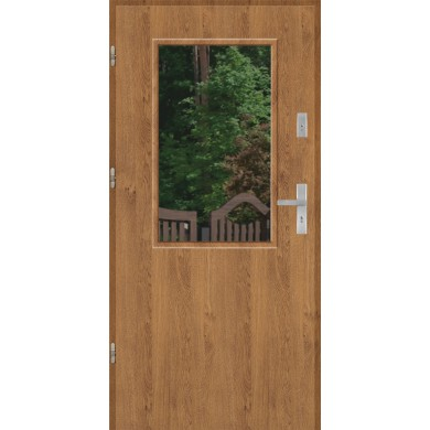 Drzwi wejściowe stalowe model EKO-NORM DUO 1