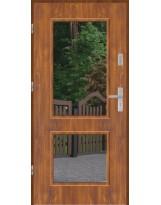 Drzwi wejściowe stalowe model EKO-NORM DUO 2