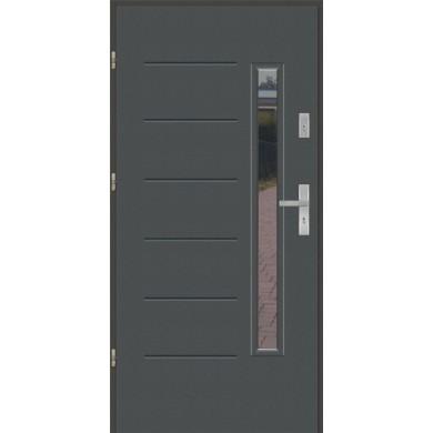 Drzwi wejściowe stalowe model EKO-NORM GALA 1S
