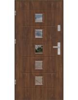 Drzwi wejściowe stalowe model EKO-NORM GALA 2S