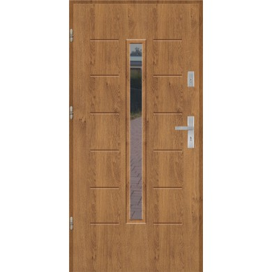 Drzwi wejściowe stalowe model EKO-NORM GALA 10S