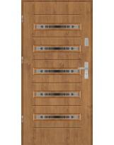 Drzwi wejściowe stalowe model EKO-NORM GALA 13