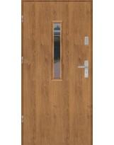 Drzwi wejściowe stalowe model EKO-NORM PŁASKIE S17