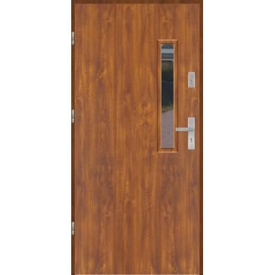 Drzwi wejściowe stalowe model EKO-NORM PŁASKIE S18