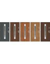 Drzwi wejściowe stalowe model EKO-NORM FINEZJA 24 INOX