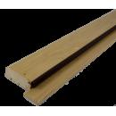 Próg drewniany