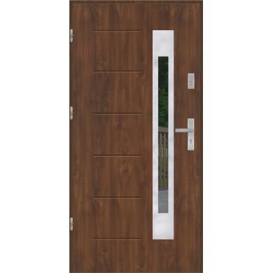Drzwi wejściowe stalowe model EKO-NORM GALA 23 INOX