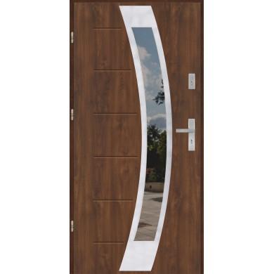 Drzwi wejściowe stalowe model EKO-NORM GALA 31 INOX