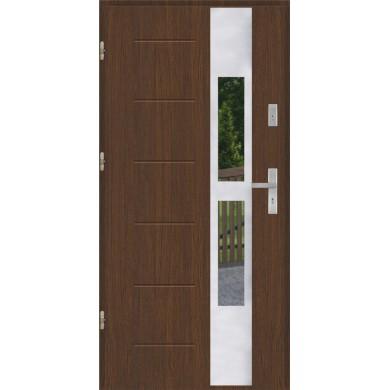Drzwi wejściowe stalowe model EKO-NORM GALA 35 INOX