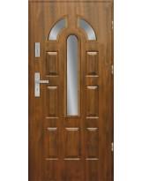 Drzwi wejściowe stalowe model PREMIUM PIAST 12