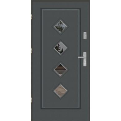 Drzwi wejściowe stalowe model PREMIUM FINEZJA 14
